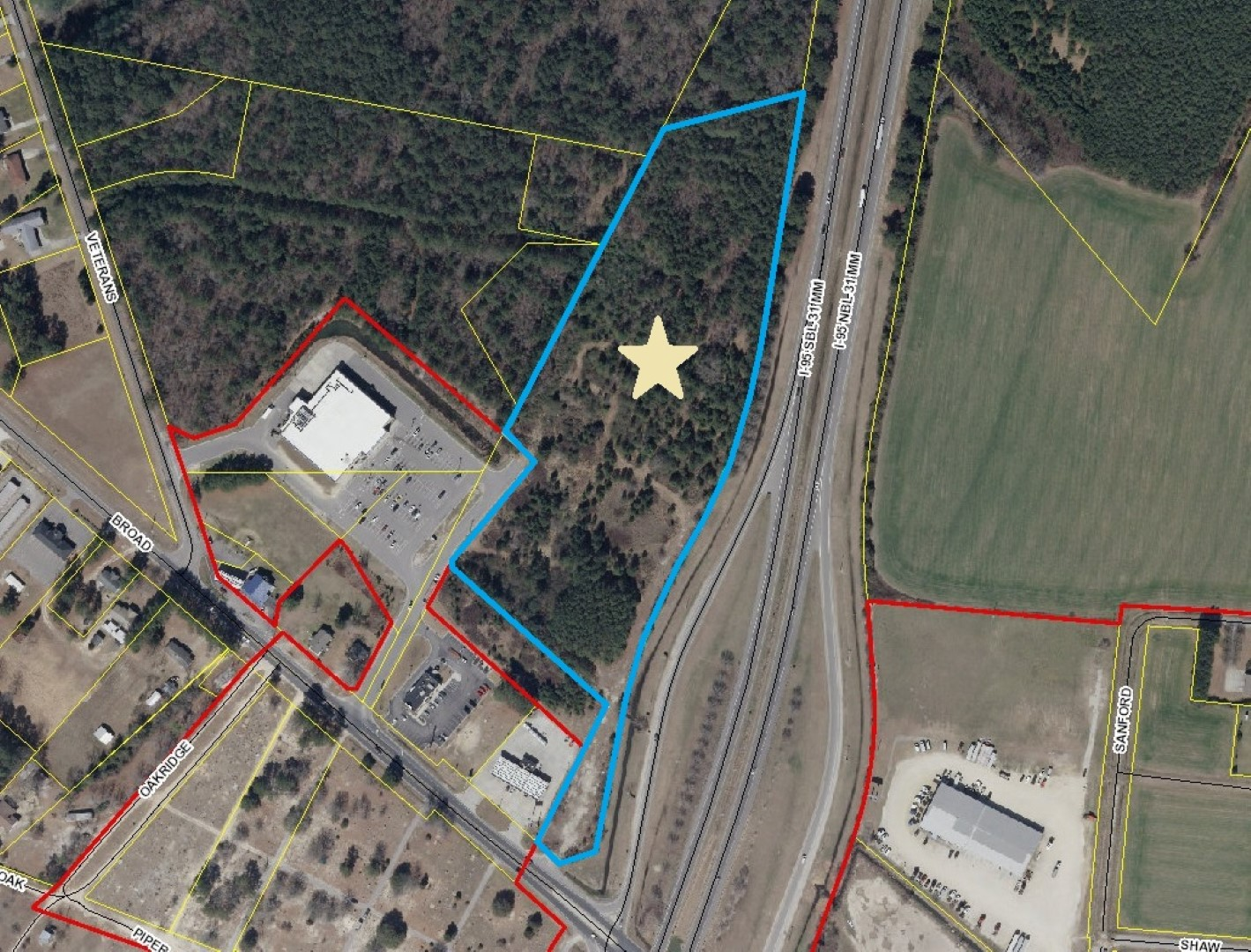 St Paul Nc Map.Broad Street St Pauls Nc 28384 Franklin Johnson Commercial Real